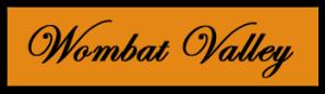 Wombat valley logo
